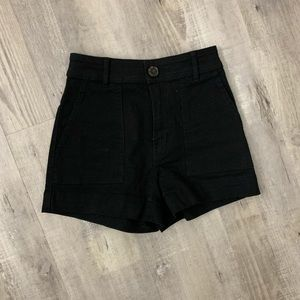 HM High Waist Shorts